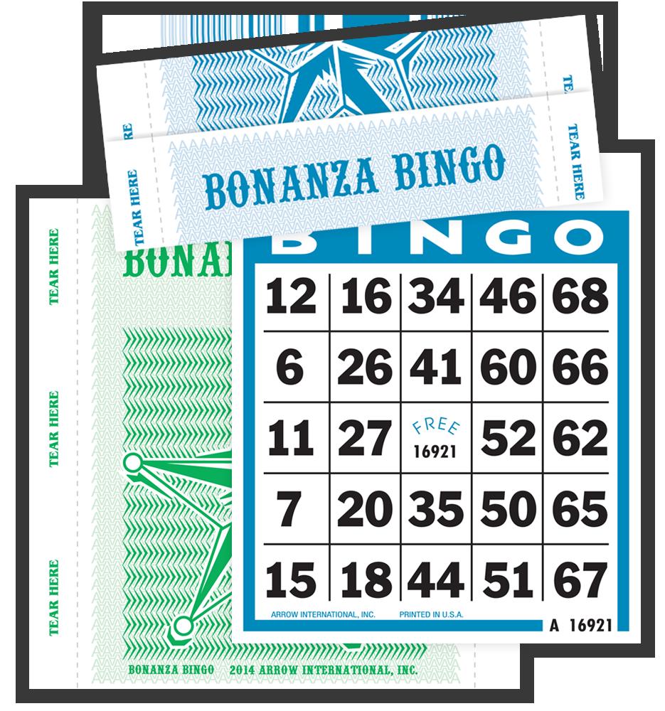 Bonanza Bingo Tear Open