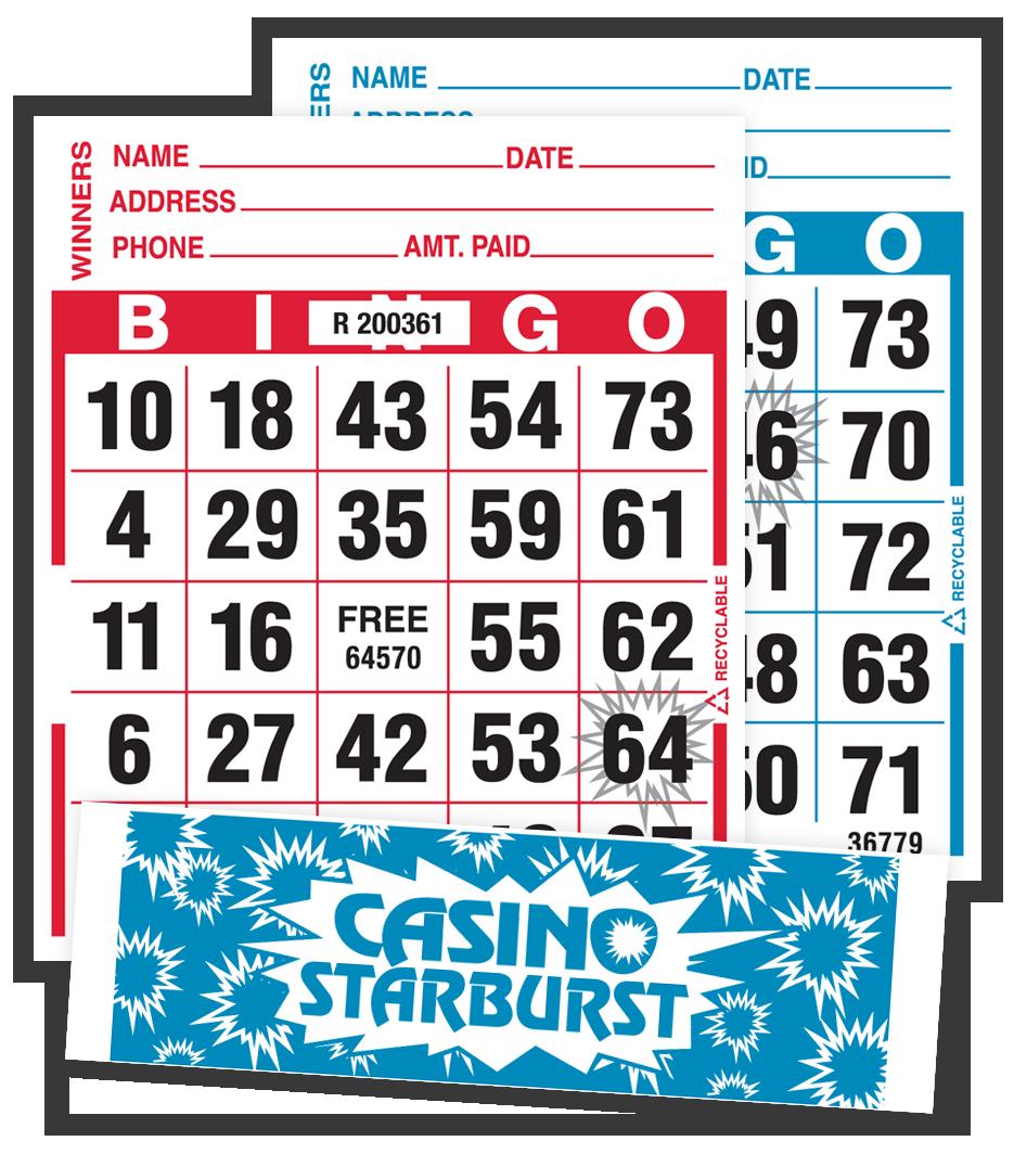 Casino Starburst Tear-Opens