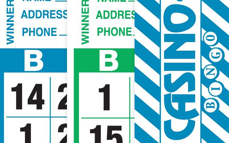 Casino Bingo Tear-Opens Paper