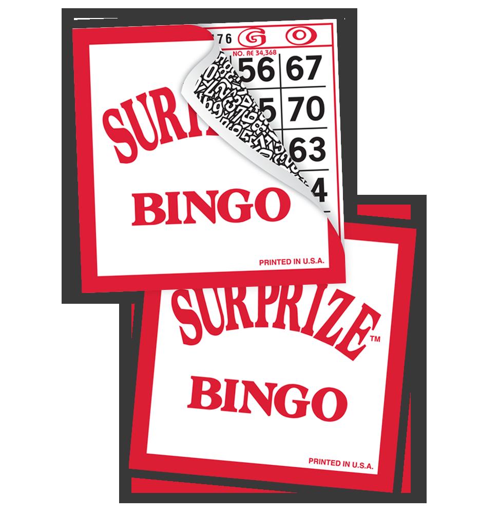 Surprize Bingo Tear Open
