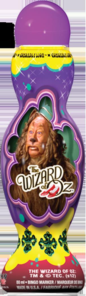 Cowardly Lion Wizard of Oz Bingo Ink