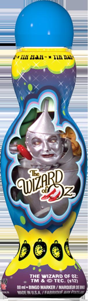 Tinman Wizard of Oz Bingo Ink